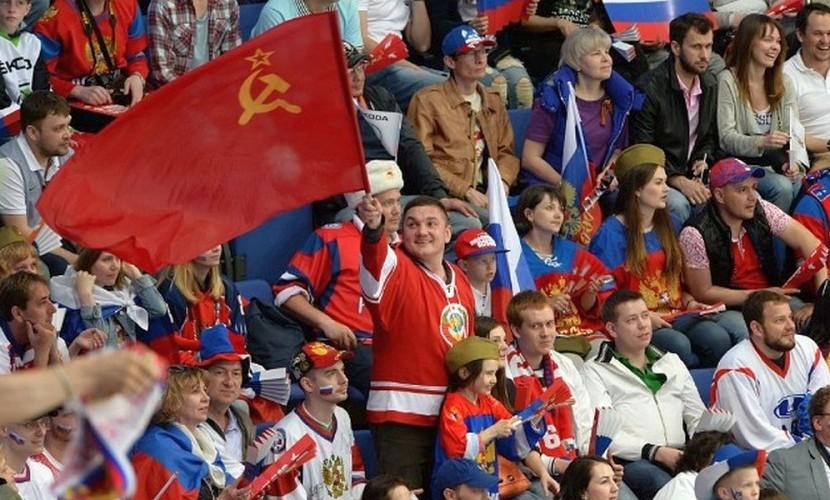 Российские хоккеисты подарили всей стране на День Победы красивый выигрыш у латвийцев