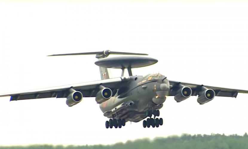 Новейший самолет А-50У представило Минобороны РФ