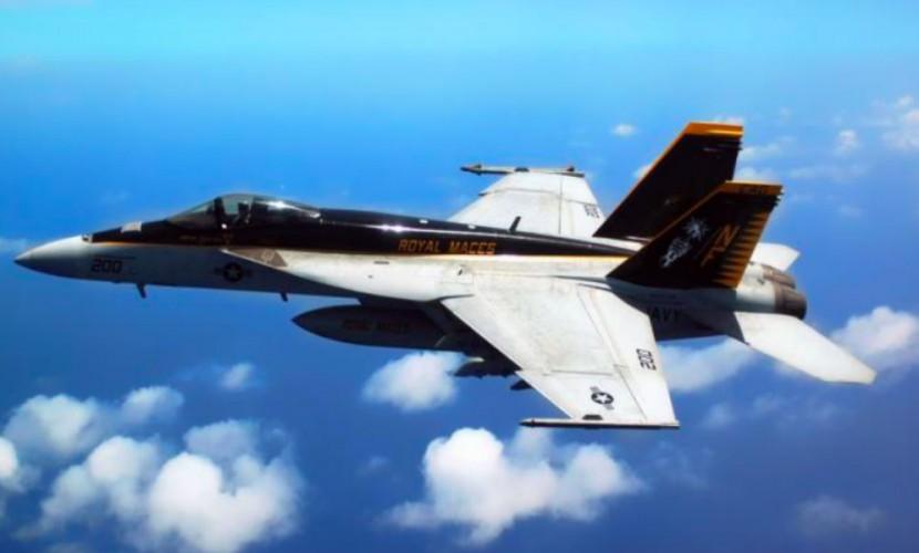 Около берегов Северной Каролины столкнулись истребители ВМС США