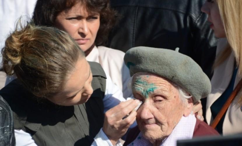 Облитая 9 мая зеленкой 91-летняя ветеран войны ушла из жизни в Донецкой области