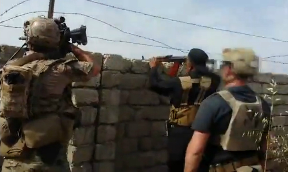 Видео последнего боя американского спецназовца в Ираке появилось в Интернете