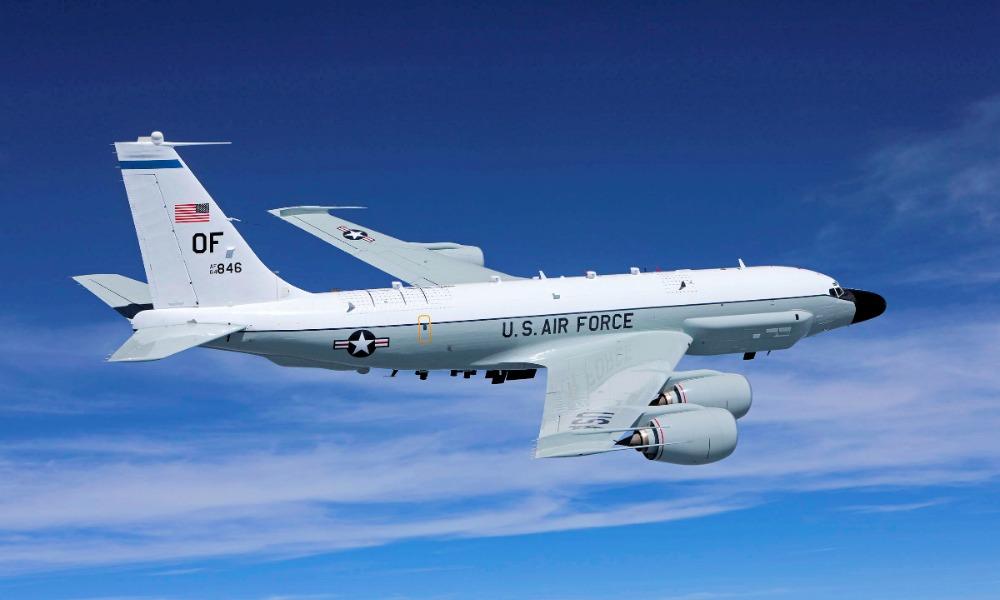 Американский самолет-разведчик направился к побережью Мурманской области