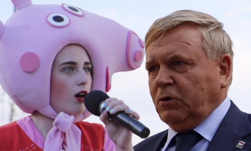 Агитация дошколят «Свинкой Пеппой» и «Фиксиками» за «добрых волшебников»-кандидатов праймериз ЕР попала на видео