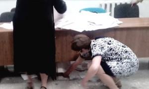 Ростовские танцы с бюллетенями на скандальном праймериз «Единой России» попали на видео