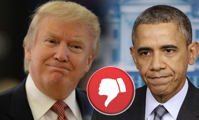 Трамп назвал Обаму худшим президентом за всю историю США