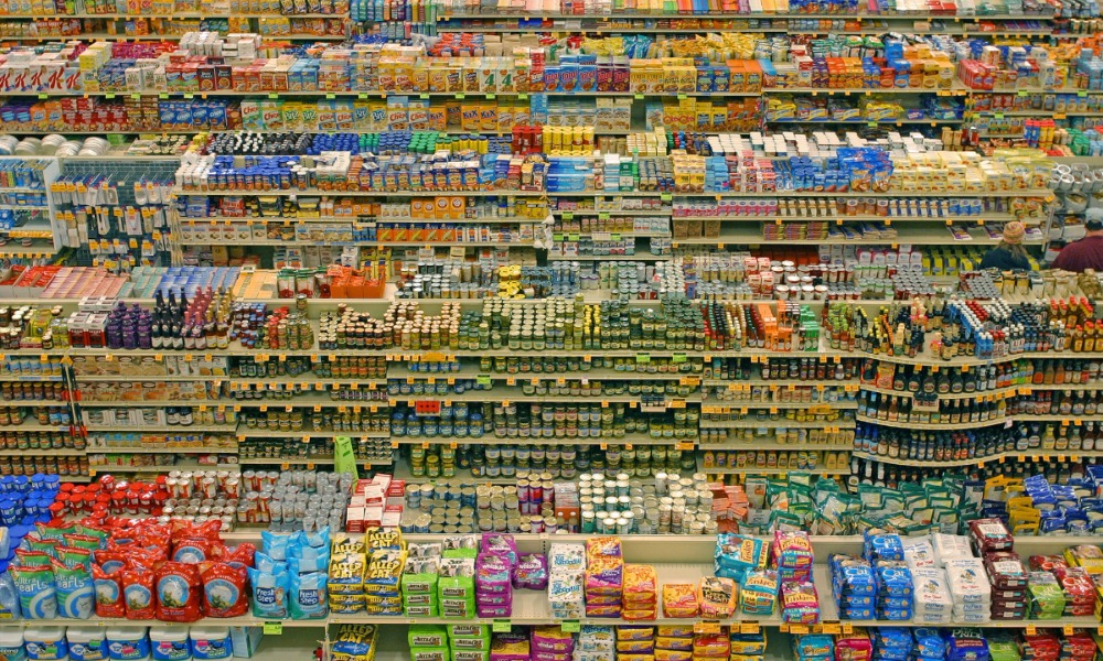 Цены на продукты в России выросли с начала года в 4 раза больше, чем в странах Евросоюза