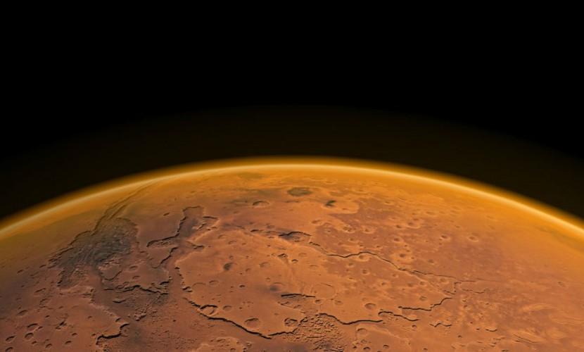 Следы гигантских цунами на Марсе нашли ученые