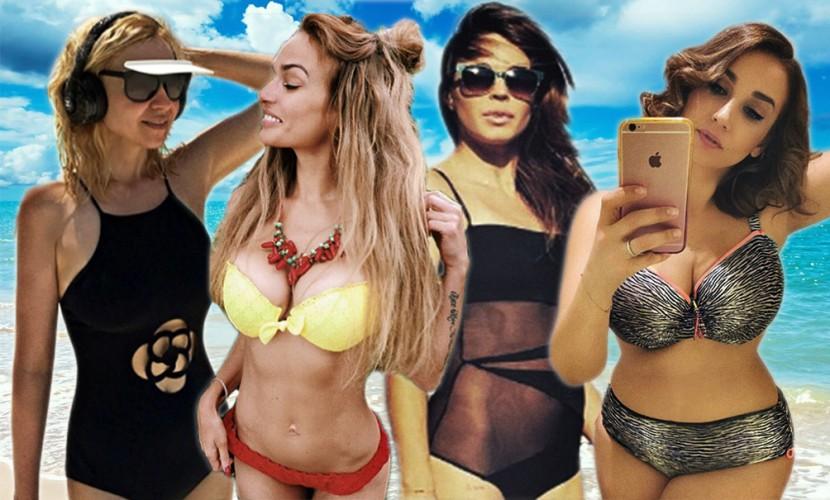 Российские звезды в интересных купальниках показали пляжную моду лета-2016