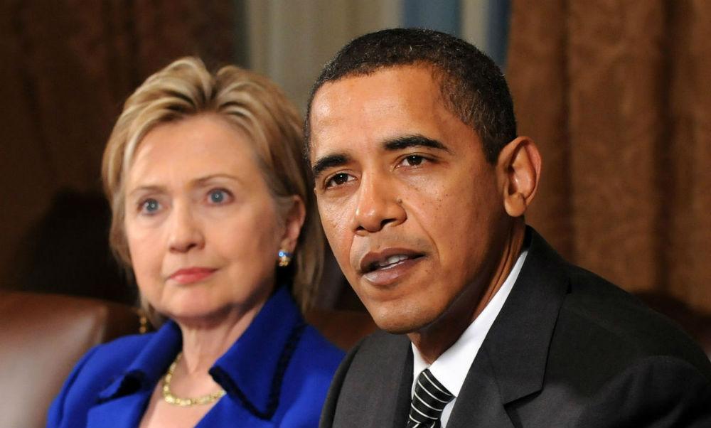 Барак Обама выбрал Хиллари Клинтон своей преемницей на посту президента США
