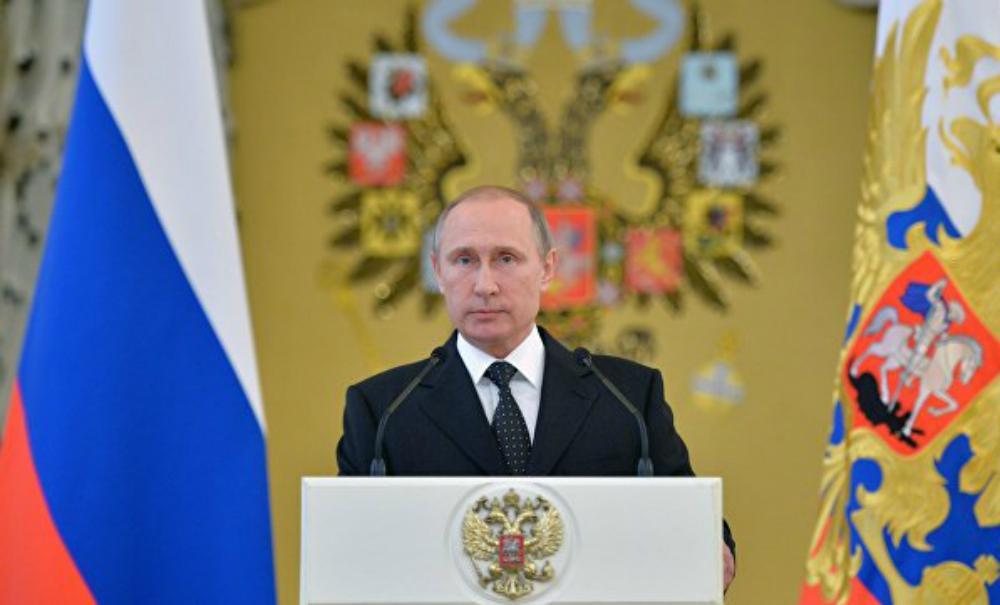 Путин заявил о намерении противостоять