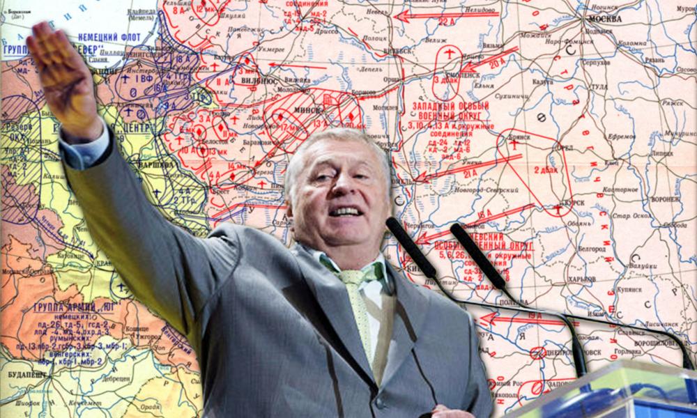 Лучше было отдать Украину и Прибалтику Гитлеру, чем сейчас НАТО, - Жириновский