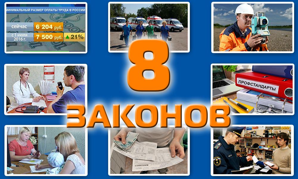 8 законов, которые с 1 июля сделали жизнь россиян качественно лучше, легче и безопаснее