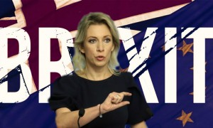 Мария Захарова срифмовала Brexit с неприлично звучащим словом