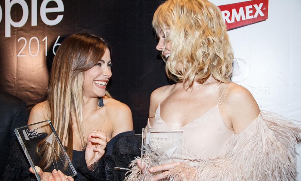 Украинка Ани Лорак и россиянка Валерия стали звездами церемонии Fashion People Awards 2016