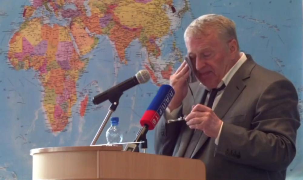 Жириновский на съезде ЛДПР рассказал о пытках в Донбассе и унижениях в Алма-Ате