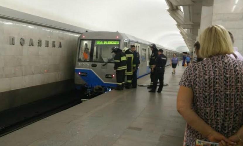Насерой ветке метро остановили движение из-за погибшего пассажира