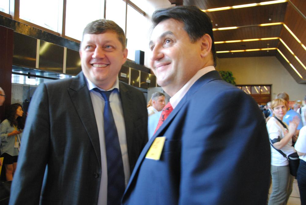 Олег Пахолков и Олег Михеев