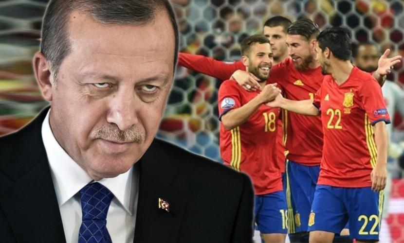Эрдогана высмеяли винтернете после поражения Турции наЕвро