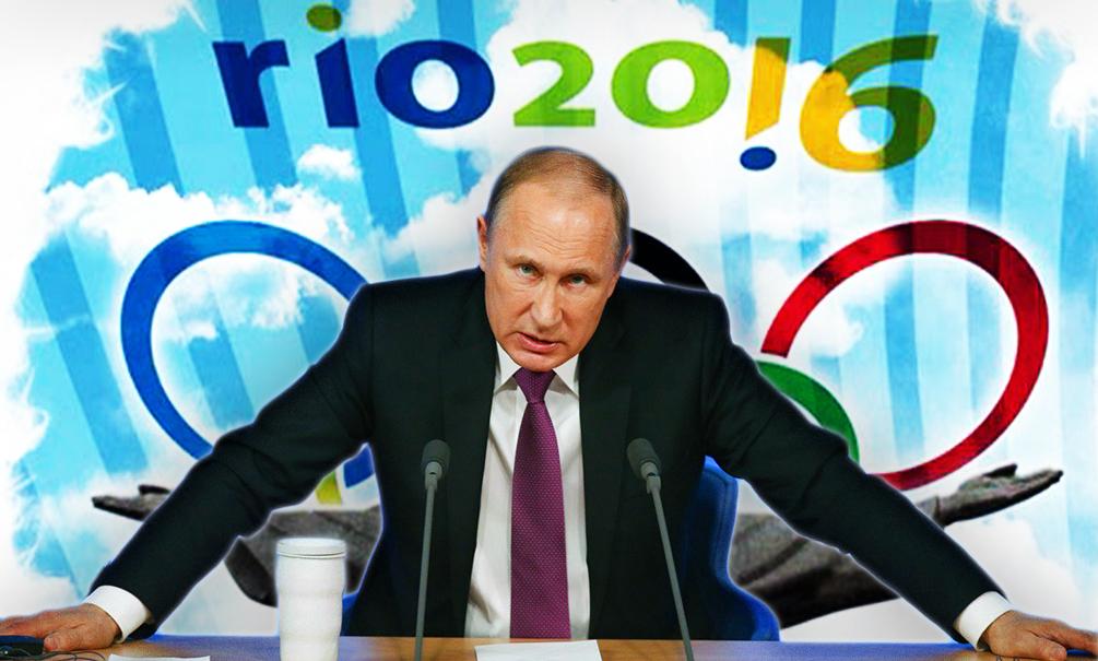 Путина рассердит дисквалификация России с Олимпиады в Рио, - FT