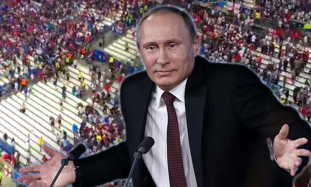 Путин: Я не знаю, как 200 наших болельщиков отметелили несколько тысяч англичан