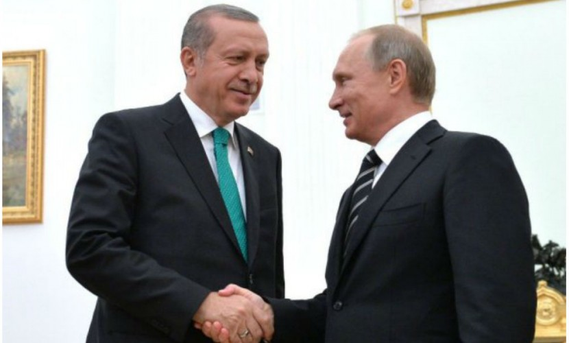 Путин поручил руководству начать переговоры сТурцией