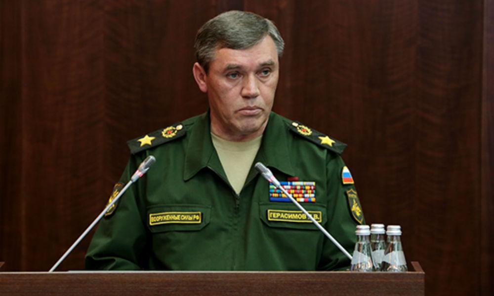 Глава Генштаба ВС РФ жестко ответил на слова США о «небезграничном терпении» из-за Сирии