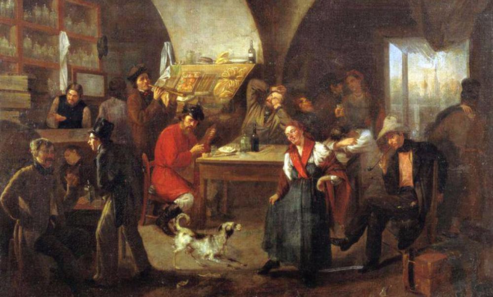 Кабак времен императрицы Елизаветы нашли рабочие при укладке плитки в центре Москвы