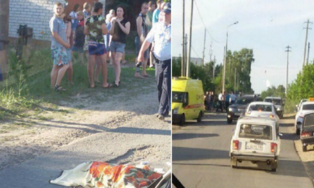 12-летний подросток из Казани разбился об столб на мотоцикле