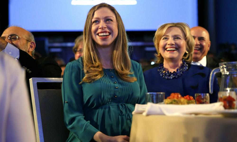 Дочь Билла и Хиллари Клинтон родила сына