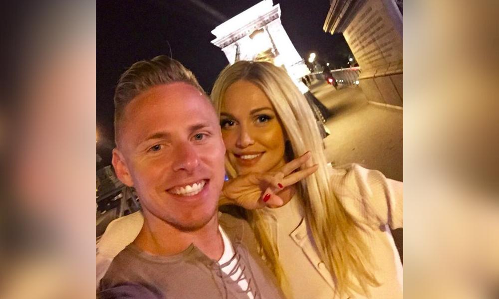Лопырева провела ночь в Париже с героем матча Евро-2016 между сборными Венгрии и Португалии