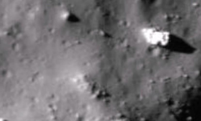 Базу инопланетян из белой керамики нашли на обратной стороне Луны в кратере Тихо
