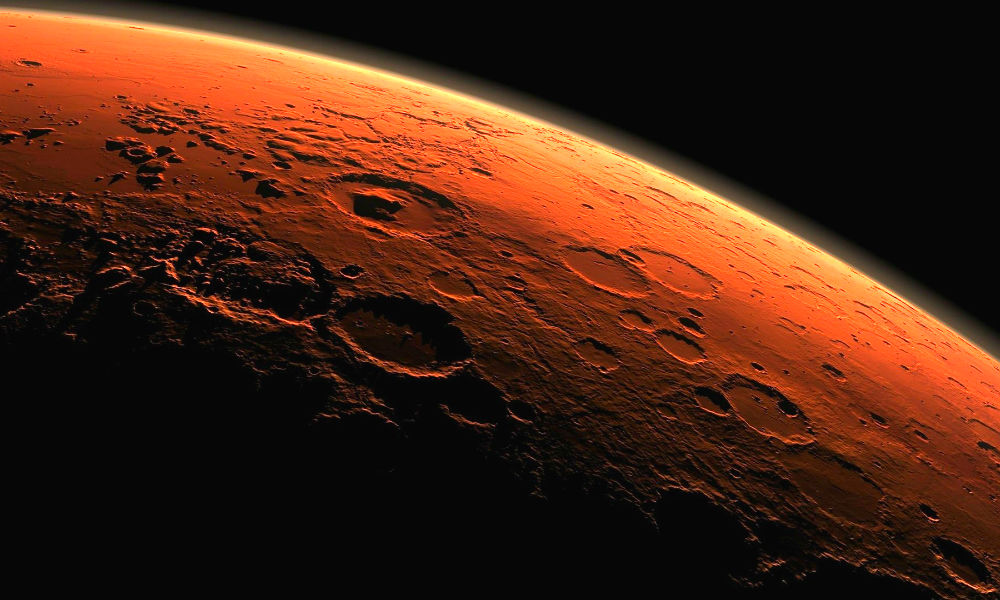 Снимки обнаруженного на Марсе невероятного «перевернутого кратера» показали ученые NASA