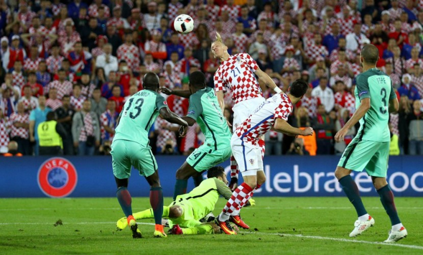 Португалия на последних минутах вырвала победу в матче с Хорватией