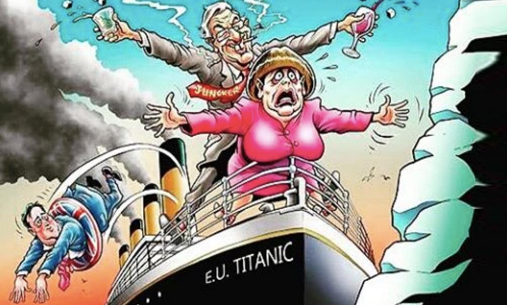 Интернет-пользователи в России и Европе отреагировали на внезапный выход Британии из ЕС