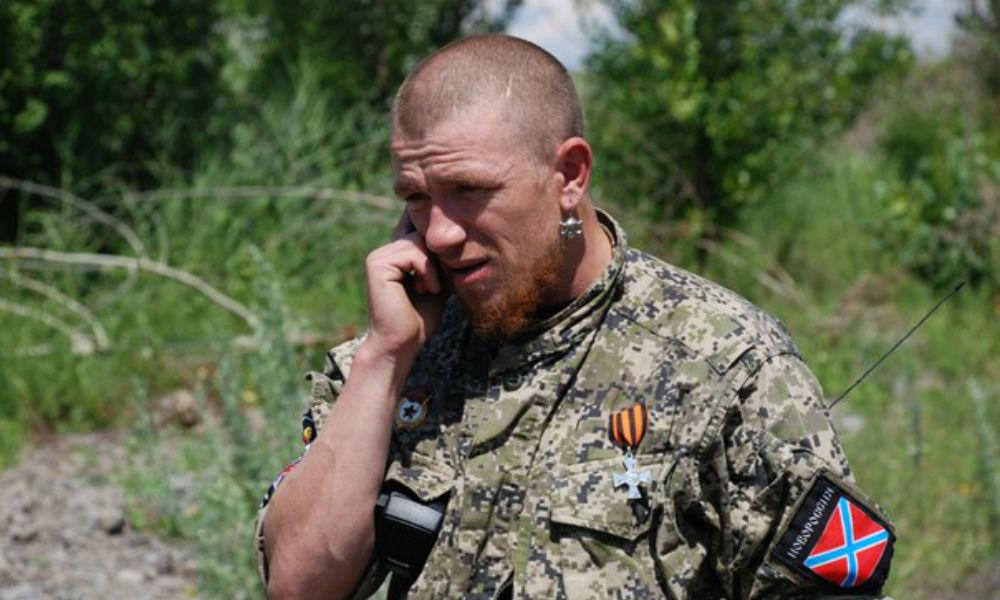 Ополченца Моторолу привезли в Санкт-Петербург спасать поврежденный осколком глаз