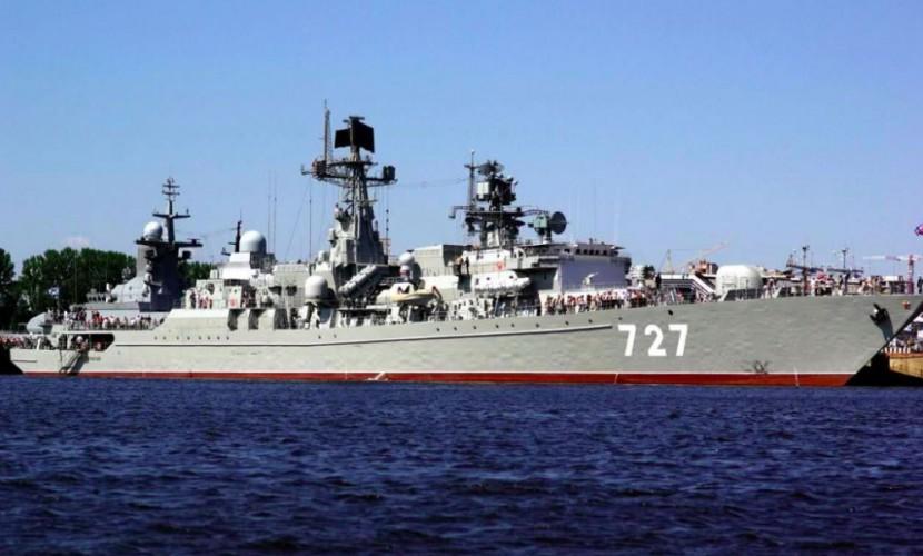 Боевой корабль ВМФ России пытался помешать операциям авианосца «Гарри Трумэн», - США