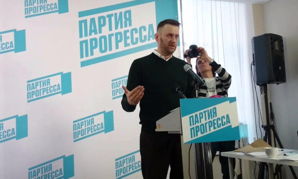 Навальный написал письма Путину, Медведеву и Памфиловой с требованием допустить его партию к выборам