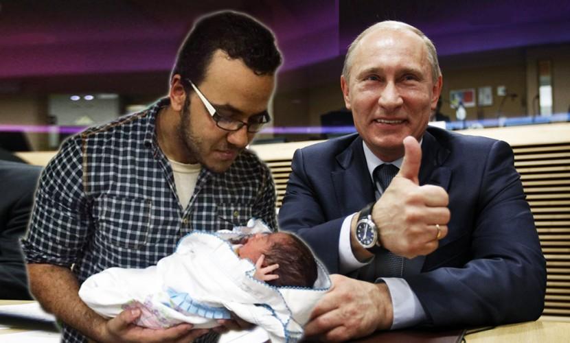 Египтянин назвал своего сына вчесть лидераРФ