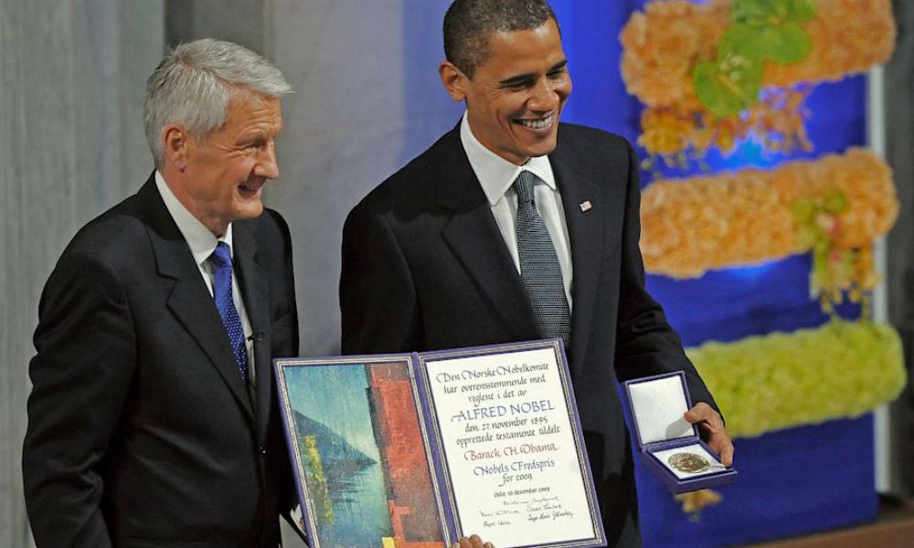 Алексей Пушков предложил дать Бараку Обаме вторую Нобелевскую премию