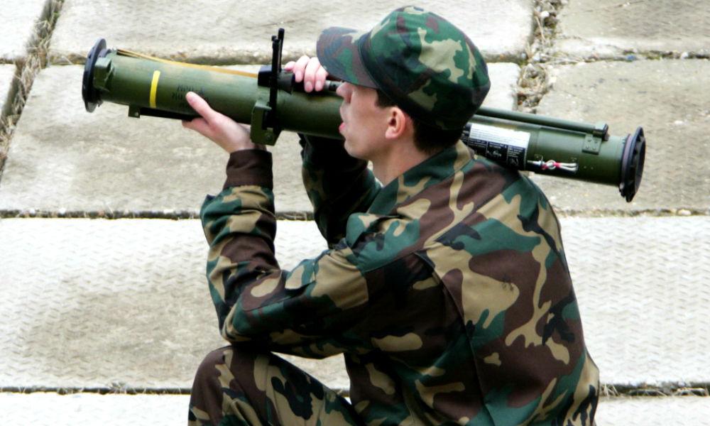 Ударом из экспериментальных огнеметов ополченцы уничтожили в Донбассе украинских морских пехотинцев