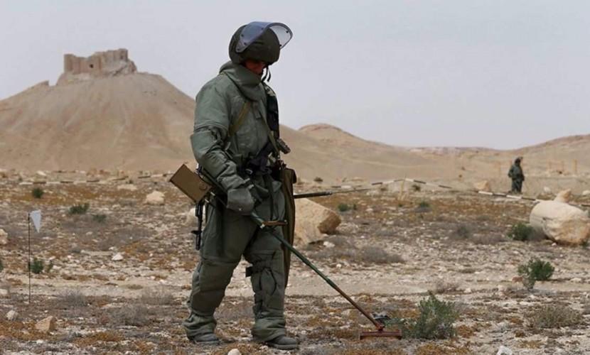 Более 30 российских военнослужащих получили награды за разминирование в Сирии