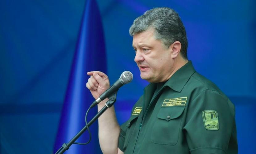 Порошенко разрешил брать иностранцев в украинскую армию с испытательным сроком