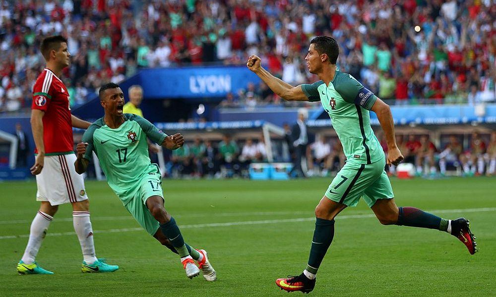 Венгрия и Португалия во главе с капитанами Джуджаком и Роналду устроили голевое шоу на Евро-2016