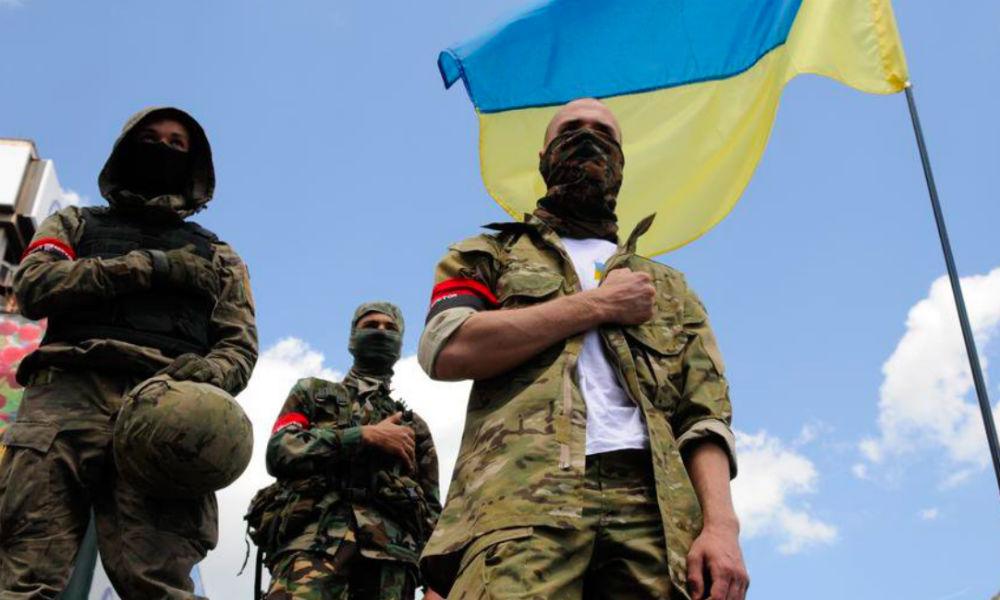 Командир «Правого сектора» обвинил штаб АТО в гибели боевиков у шахты в Донбассе