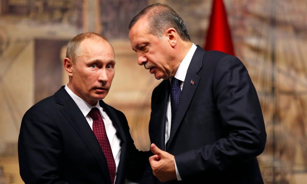 В Кремле заявили о получении Путиным извинений Эрдогана за гибель в Сирии пилота Су-24