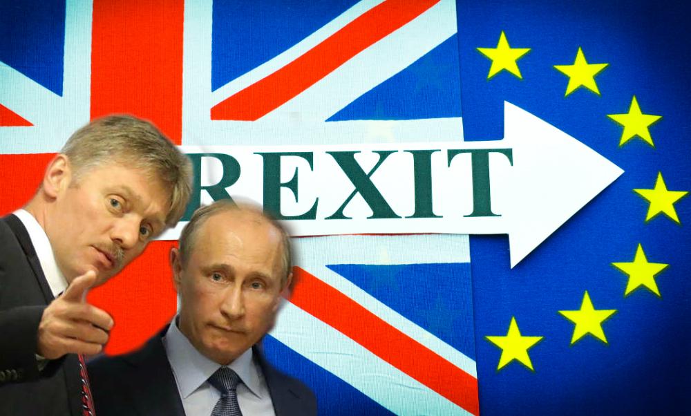 Кремль рассчитывает на потепление отношений с Великобританией после выхода страны из Евросоюза