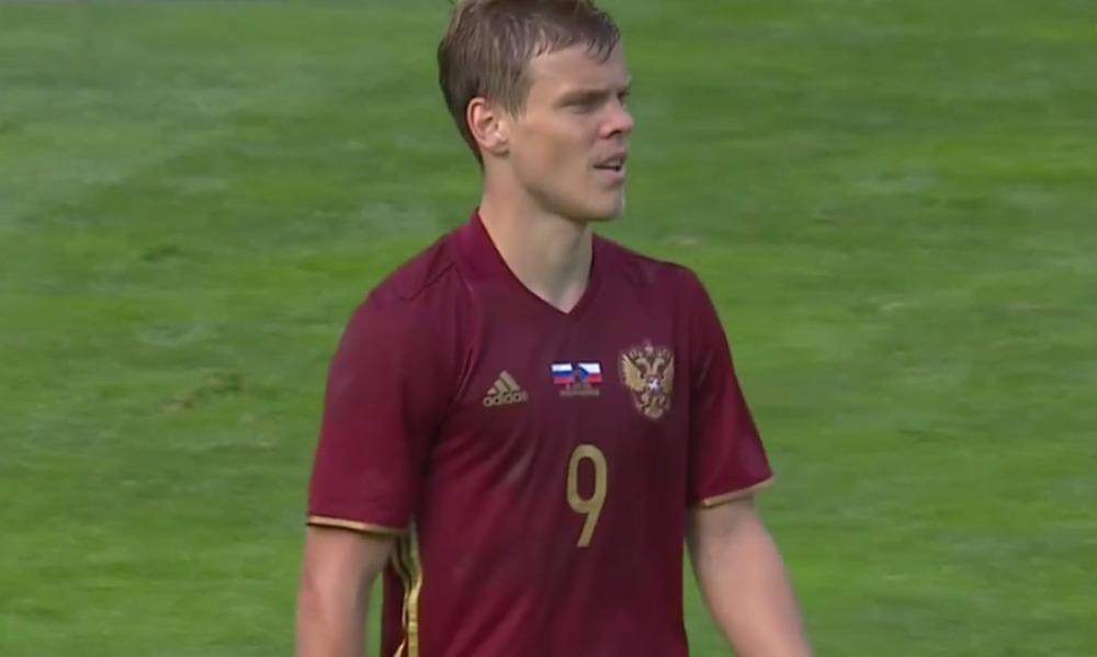 Гол Кокорина воодушевил российских футболистов в матче с чехами, но потом блистал Нецид