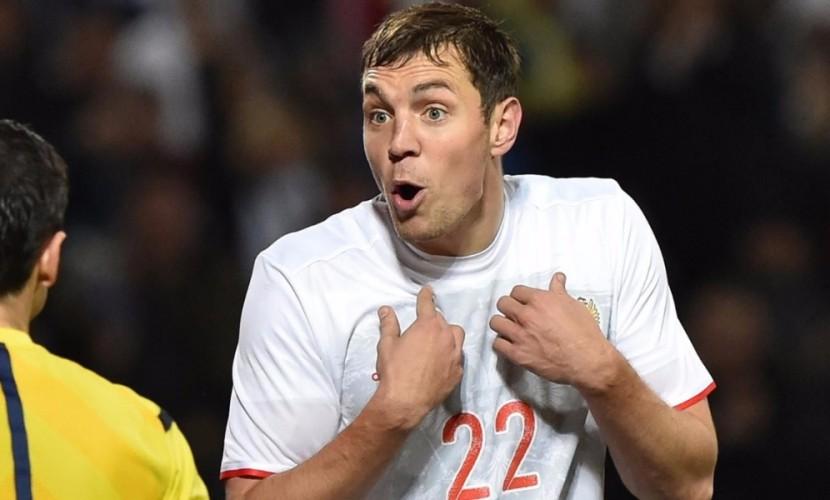 Усилия Дзюбы в матче сборной России по футболу с Сербией нивелировал мнимый офсайд в Монако
