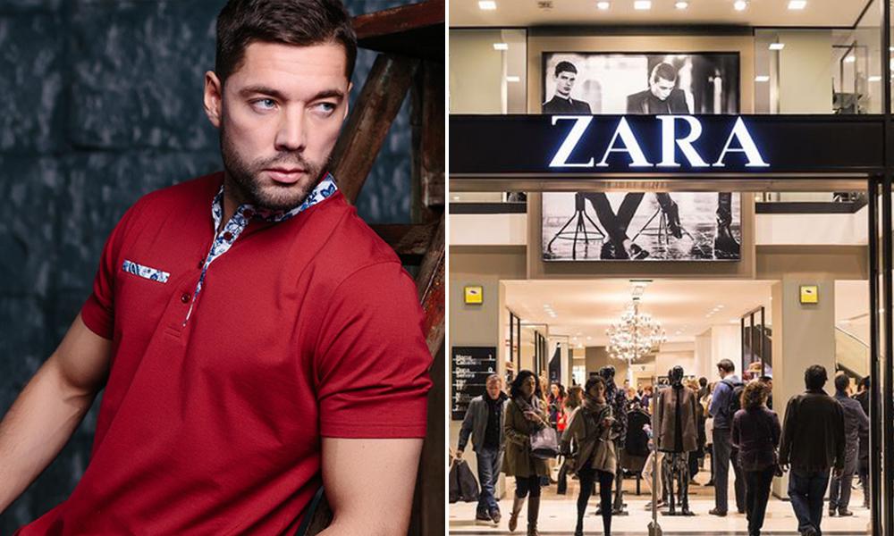 Опасные для здоровья мужские рубашки Zara, MNG, Bellford и John Jeniford обнаружили в российских магазинах