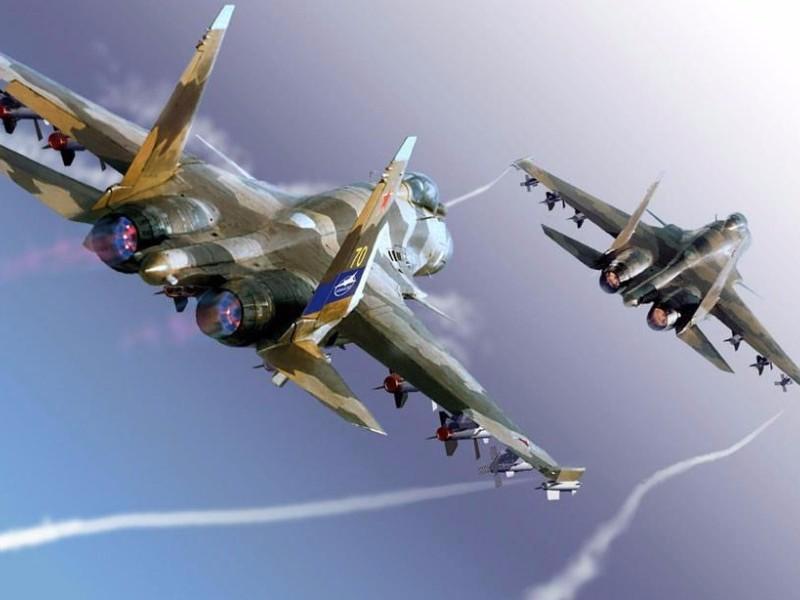 Латвийских военных возмутил полет двух Су-27 над нейтральными водами Балтийского моря